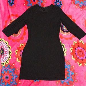 Express Women Black Dress/ Size M
